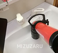 洗面台のつまり