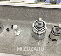 洗面蛇口の水漏れを修理