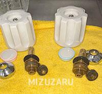 枚方市で台所の蛇口を修理