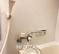 浴室のシャワーホースを交換