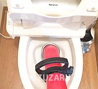 トイレつまりの修理に対応