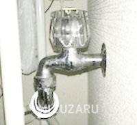 洗濯機の蛇口が漏水