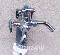 和泉市で分岐水栓の取り付け