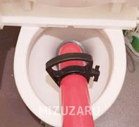 和泉市でトイレのつまり