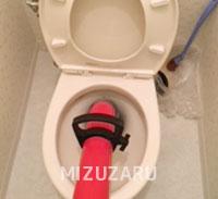 加須市でトイレつまり