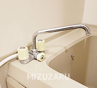 お風呂の蛇口を修理