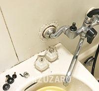浴室蛇口の水漏れ