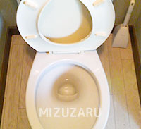 京都市西京区でトイレのつまり