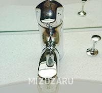 洗面蛇口の水漏れ