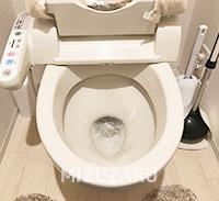 大阪市西区でトイレのつまり修理