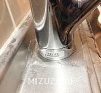 キッチン蛇口の修理