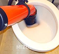 新宿区新宿でトイレのつまり修理