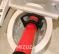 戸田市でトイレのつまり解消