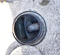 排水桝の高圧洗浄