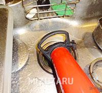 キッチンのつまり修理